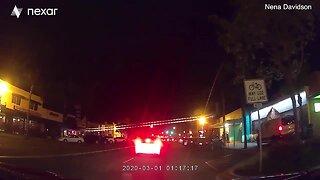 Video shows U-Haul crash in Encinitas