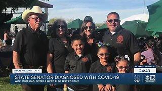 State senator diagnosed with COVID-19