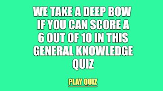 General Knowledge Quiz #46895