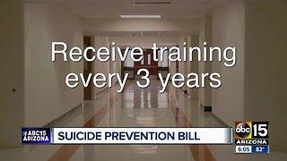 Mental health training bill being considered for Arizona schools