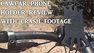 CAWCAR Accessories Cell Phone Mount Review