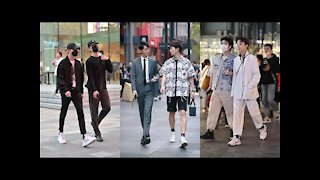 Chinese Boys Street Fashion Viable Fashion trends on YouTube
