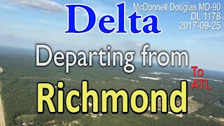 Delta flight departing from Richmond Virgina #DL1178