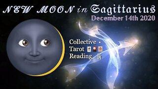 New Moon 🌙 𝒾𝓃 𝔖𝔞𝔤𝔦𝔱𝔱𝔞𝔯𝔦𝔲𝔰 🏹 Collective Tarot Reading ꧁ༀ December 14, 2020 ༀ꧂ 🃏🎴🀄️
