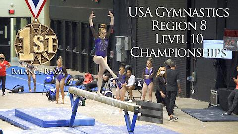 Whitney Bjerken | Level 10 USA Gymnastics Regional Championships