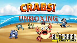 Crabs! Unboxing Moaideas Game Design