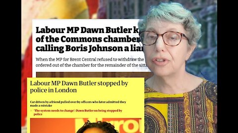 Dawn Butler Asked to Leave - Don't Be Like Dawn Butler