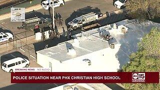 Phoenix high school on lockdown