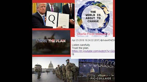 The Story behind Q decoded by expert Charlie Freak! A MUST SEE!