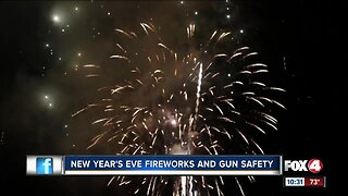 New Year's Eve Fireworks and Gun Safety