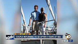 San Diego couple sails around the world