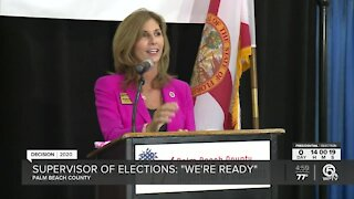 Palm Beach County elections supervisor: 'We're ready' for Election Day