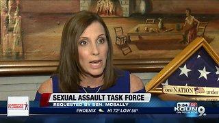 Senator McSally requests sexual assault task force