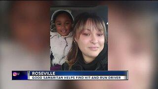 Good Samaritan helps find hit-and-run driver