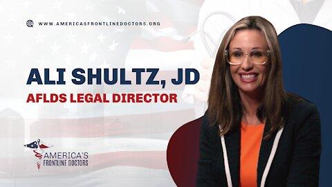 Ali Shultz, JD - AFLDS Legal Director