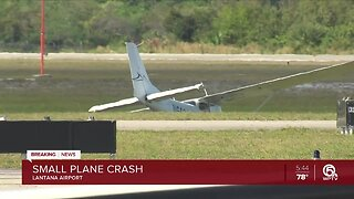 Plane makes hard landing at Lantana Airport