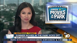 Summer movies in the park kicks off.