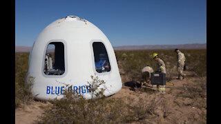 A look inside the Blue Origin space tourer