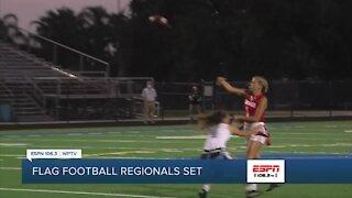 Flag football regional playoff action to get underway