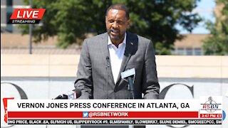 Vernon Jones Press Conference on Fulton Co., GA Election Irregularities 6/17/21
