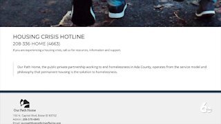 Housing Crisis Hotline available for Ada County residents