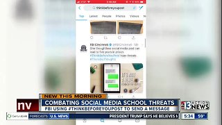 FBI using social media to warn teens about hoax school threats