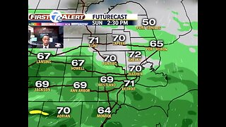 More rain this holiday weekend