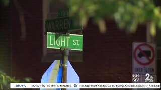 Officer taken to shock trauma after being shot Tuesday night