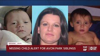 Florida Missing Child Alert issued for 2 children in Highlands County
