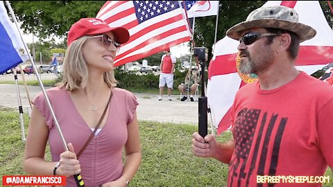 Flag-Waving With @PaintTheTrump 9/28 (Casselberry, FL) - UNCENSORED