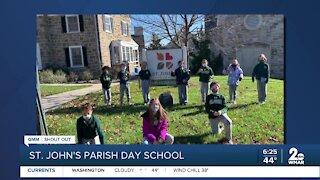 Good Morning Maryland from the St. John's Parish Day School