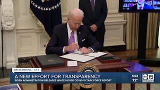 President Biden's administration promises new effort for transparency on COVID-19