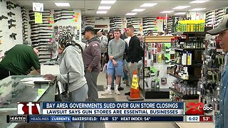 Lawsuit filed about gun store