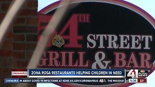 Zona Rosa restaurants helping children in need