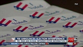 FBI holds holds press conference on 'major election security'