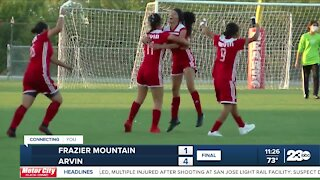 23ABC Sports: Condors win Game 1 of the Pacific Division Finals; Arvin girl's soccer advances to sectional finals