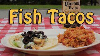 Dutch Oven Fish Tacos