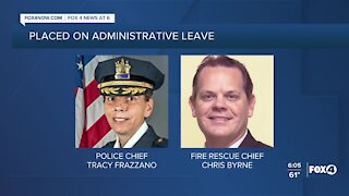 Marco Island Police and Fire Chiefs placed on administrative leave