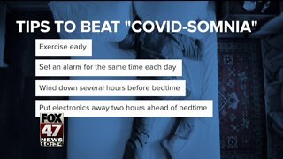 Having Trouble Sleeping? Pandemic Could be Causing Insomnia