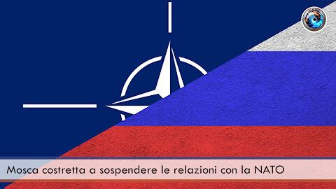 Mosca costretta a sospendere le relazioni con la NATO