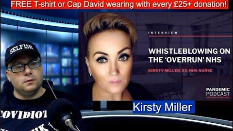 Kirsty Miller NHS whistleblower joins UNN's David Clews