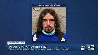 Peoria PD: Tutor arrested for multiple child sex crimes