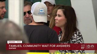 Family members endure heartbreak, exhaustion awaiting word on loved ones after Surfside condo collapse