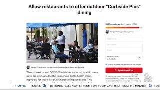 Petition to reopen restaurants