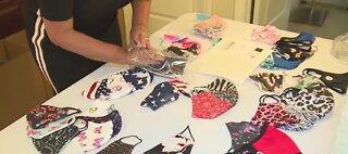 Local woman creates successful mask business