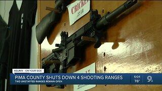 Pima County to shut down shooting ranges