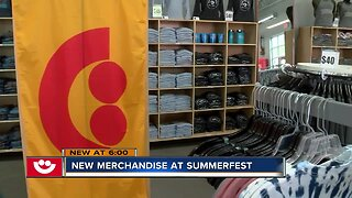 Some Summerfest gear crafted by local artists