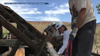 Restoration project at Soderberg Ranch