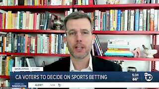 California voters get to decide on sports betting