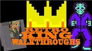 Friday the 13th walkthrough -NES- The Retro King